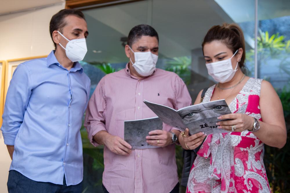 Delano Belchior, Jairo Cavalcante E Isabel Melo