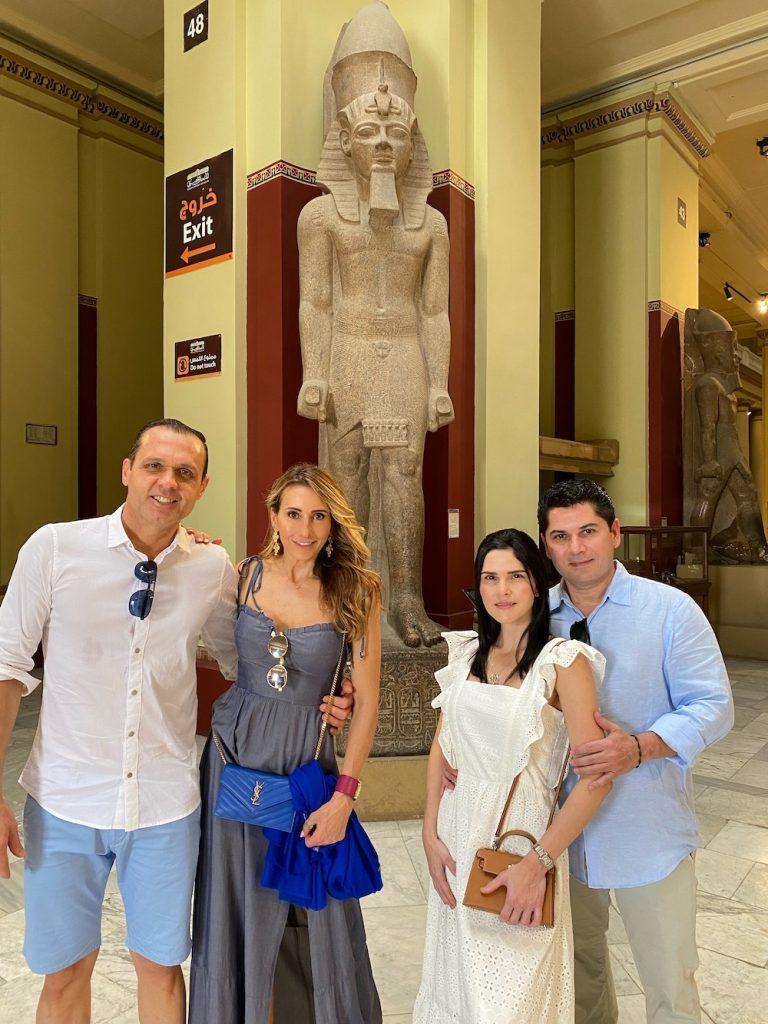 Eduardo Diogo, Melaine Fernandes, Pompeu Vasconcelos, Marília Quintão, No Egyptean Museum