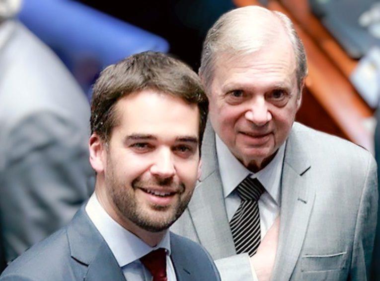 Tasso Jereissati e Eduardo Leite celebram parceria para disputar as prévias do PSDB