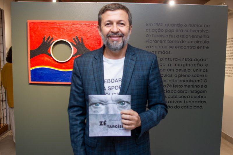 """Pop Art - Galeria Sculpt abre a exposição """"O Olhar e o Tempo"""" , de Zé Tarcísio"""
