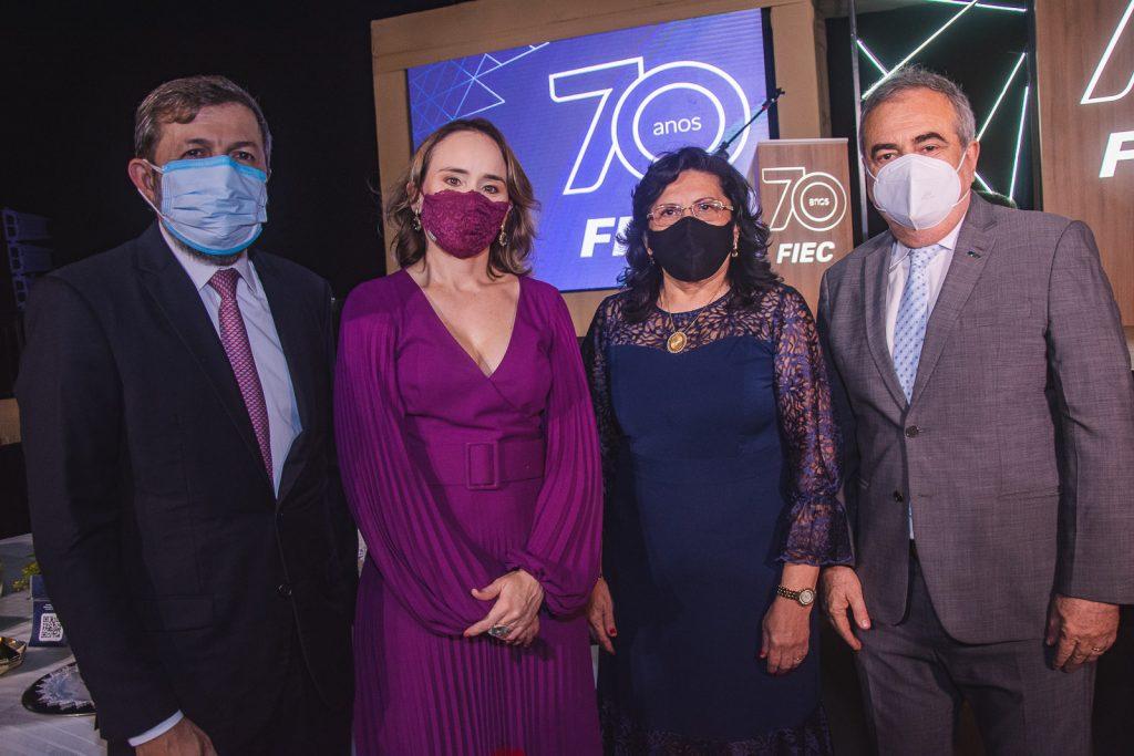 Elcio Batista, Fernanda Pacobayba, Nailde Pinheiro E Assis Cavalcante