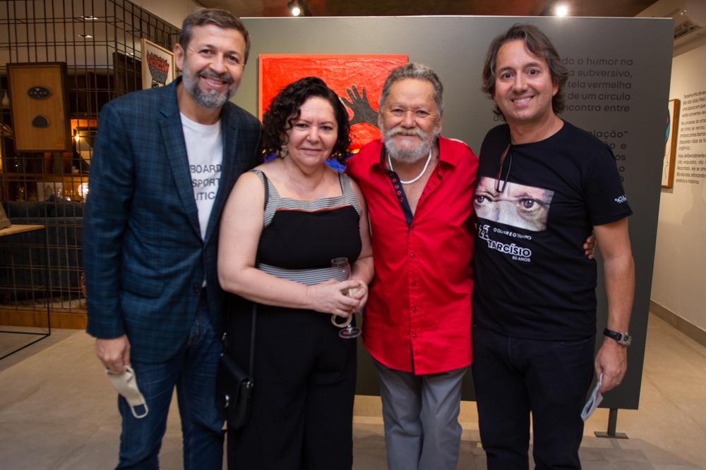"""Galeria Sculpt abre a exposição """"O Olhar e o Tempo"""" , de Zé Tarcísio"""