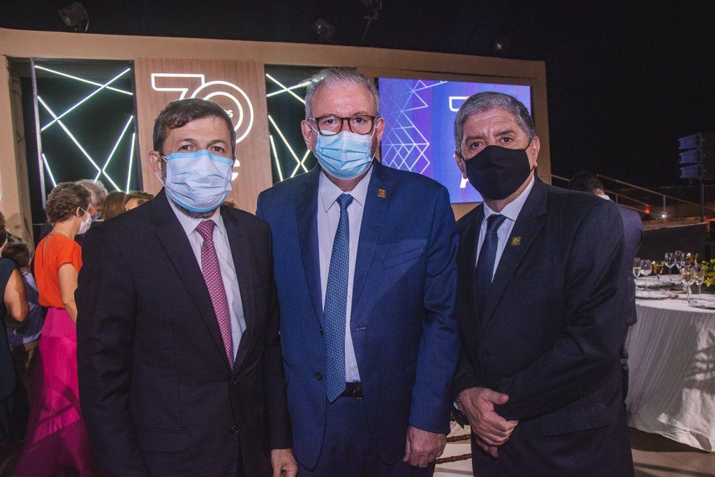 Elcio Batista, Ricardo Cavalcante E Sampaio Filho