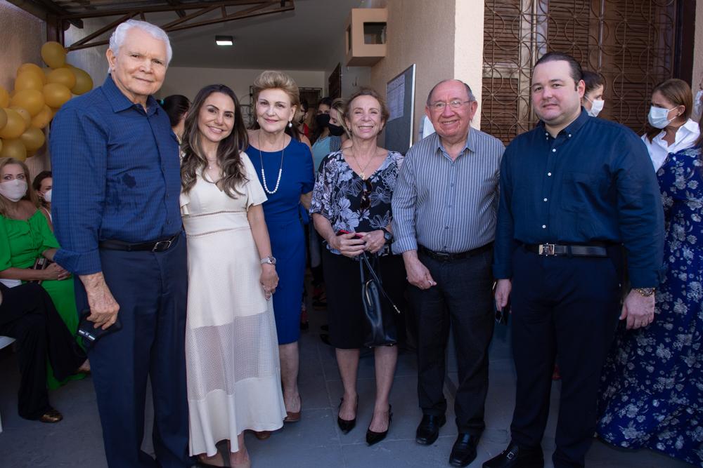 Eugenio Pequeno, Adriana Queiroz, Leticia Pequeno, Leticia Jereissati, Marinaldo Jereissati E Otávio Queiroz