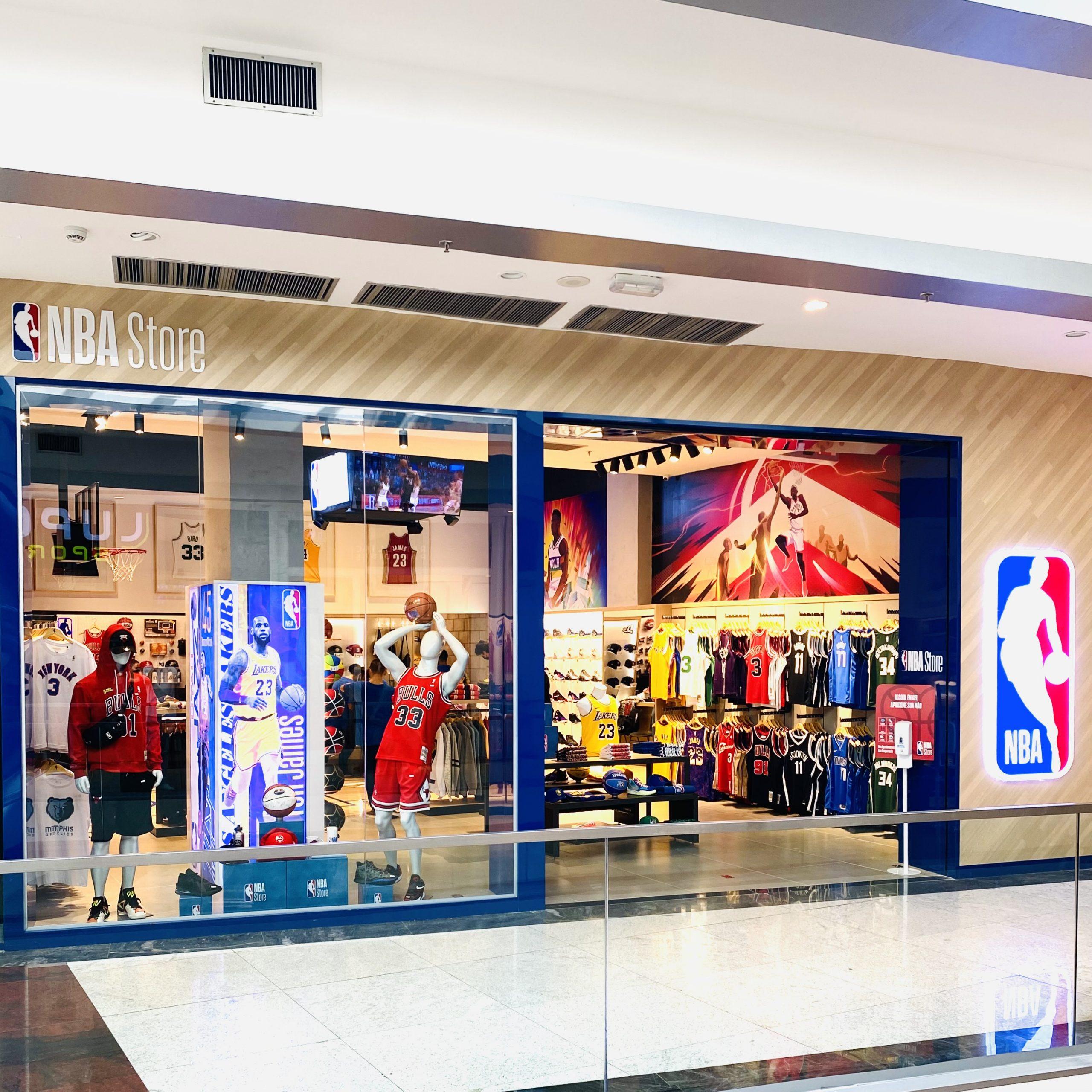 Shopping Iguatemi Fortaleza inaugura a primeira NBA Store do Norte-Nordeste