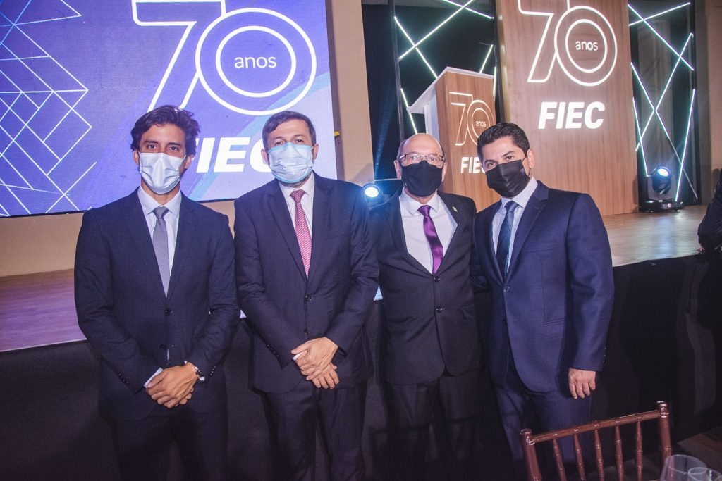 Felipe Montenegro, Elcio Batista, Andre Montenegro E Pompeu Vasconcelos