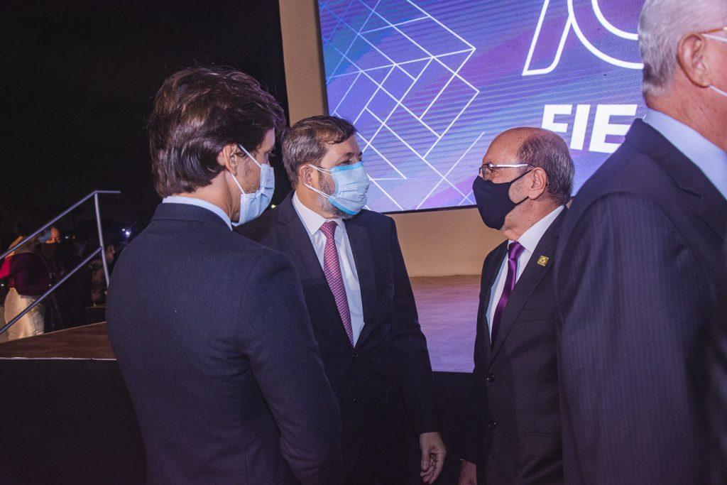 Felipe Montenegro, Elcio Batista E Andre Montenegro
