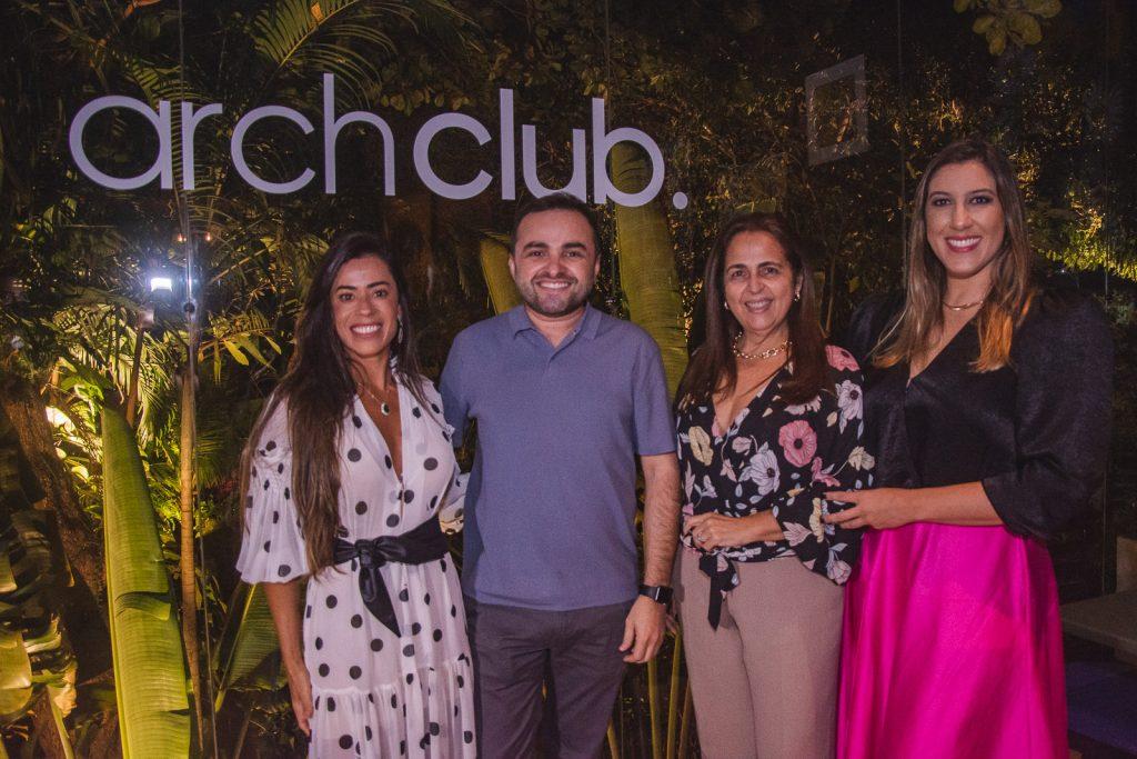 Germana Rabelo, Ramiro Mendes, Claudia Castelo Branco E Lorena Lepri