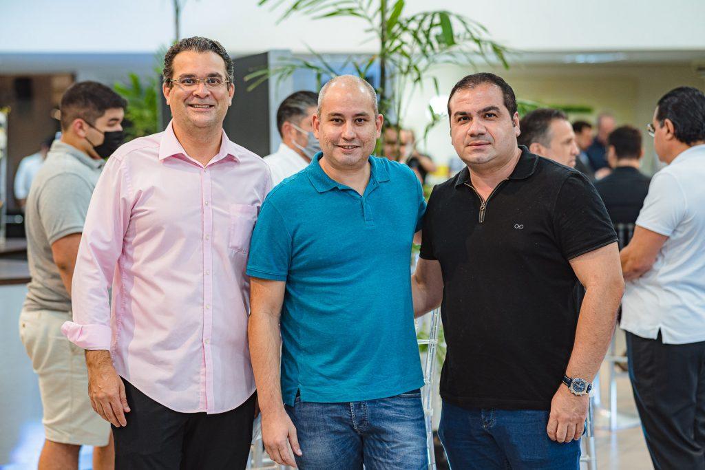 Germano Lima, Andre Linheiro E Joao Paulo De Castro