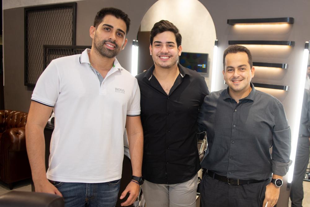 Igor Pinto, Felipe Pinto E Franzé Bardawil