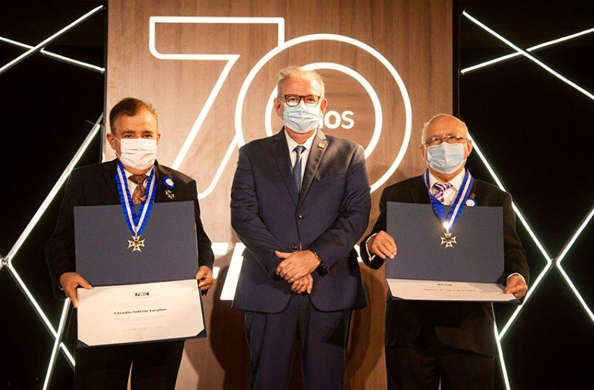 FIEC entrega a Medalha do Mérito Industrial e comemora os seus 70 anos