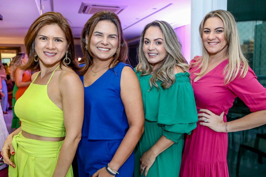 Irnanda Goersth, Clarissa Mota, Karina Mota E Lorena Albuquerque
