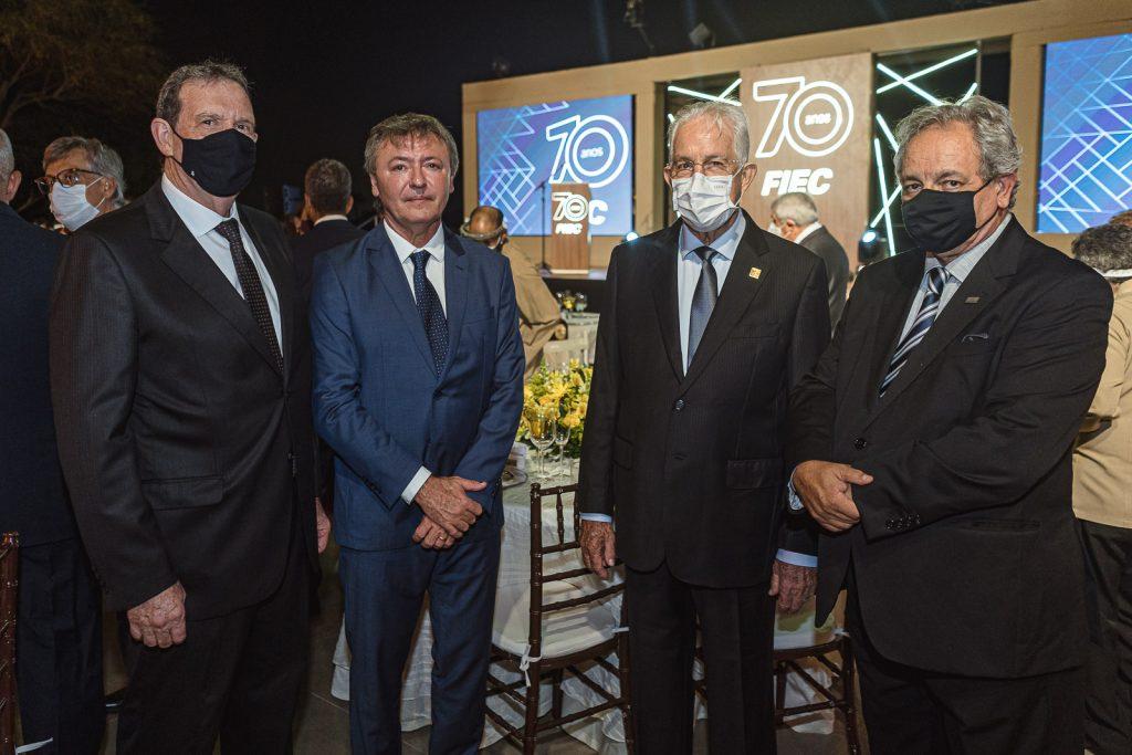 Jaime Belicanta, Mauricio Filizola, Carlos Prado E Emilio Moraes
