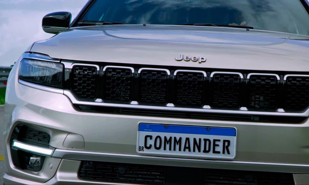 Jeep Commander é revelado por completo e a Newsedan Jeep já está preparada!