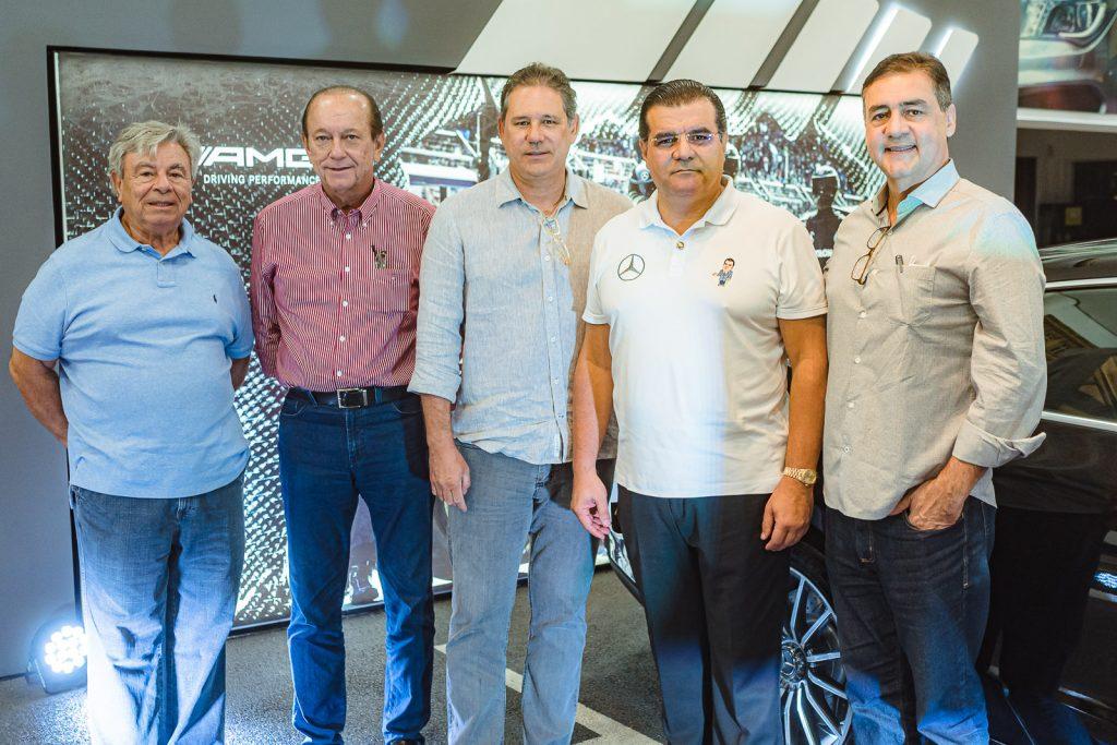 Jose Liberato Barroso Filho, Rafael Leal, Marcus Medeiros, Odmar Feitosa E Ary Campos
