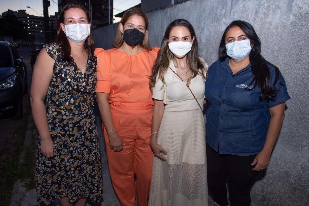 Judith Caetano, Silvana Fialho, Adriana Queiroz E Amanda Cabó