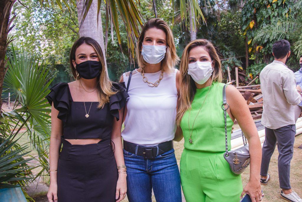 Juliana Hissa, Suzana Fiuza E Mariana Mota