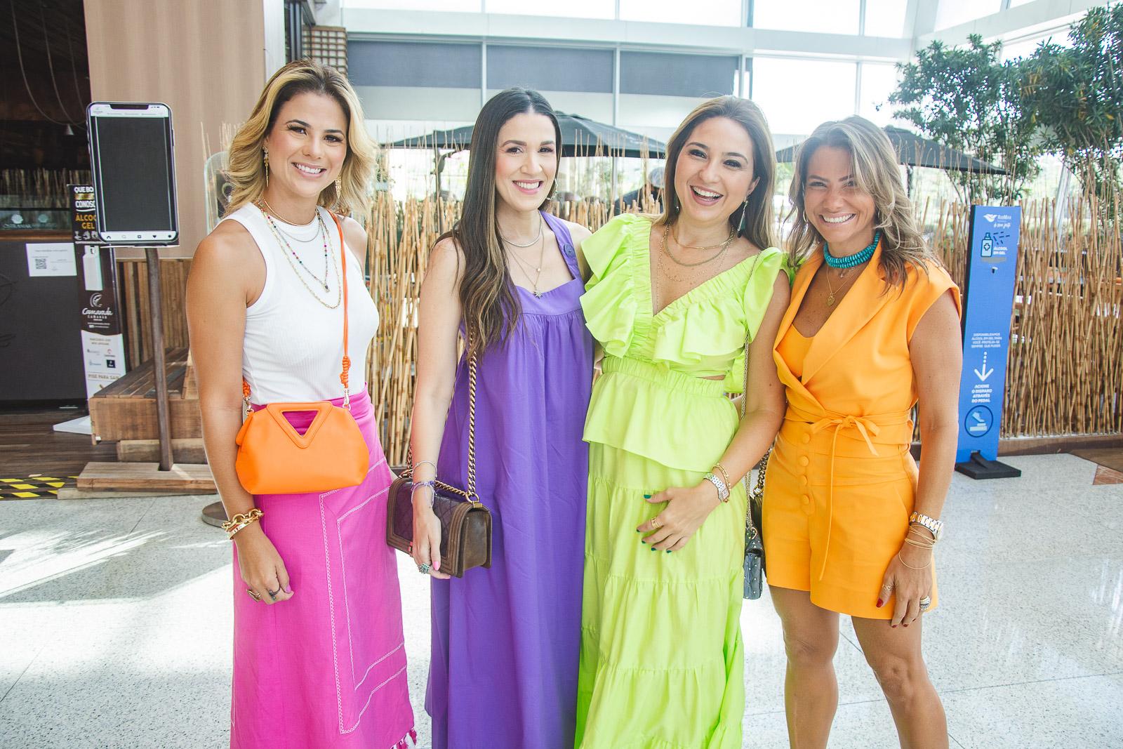 Juliana Roma, Giuliana Botelho, Marcella Feitosa E Vanessa Queiros