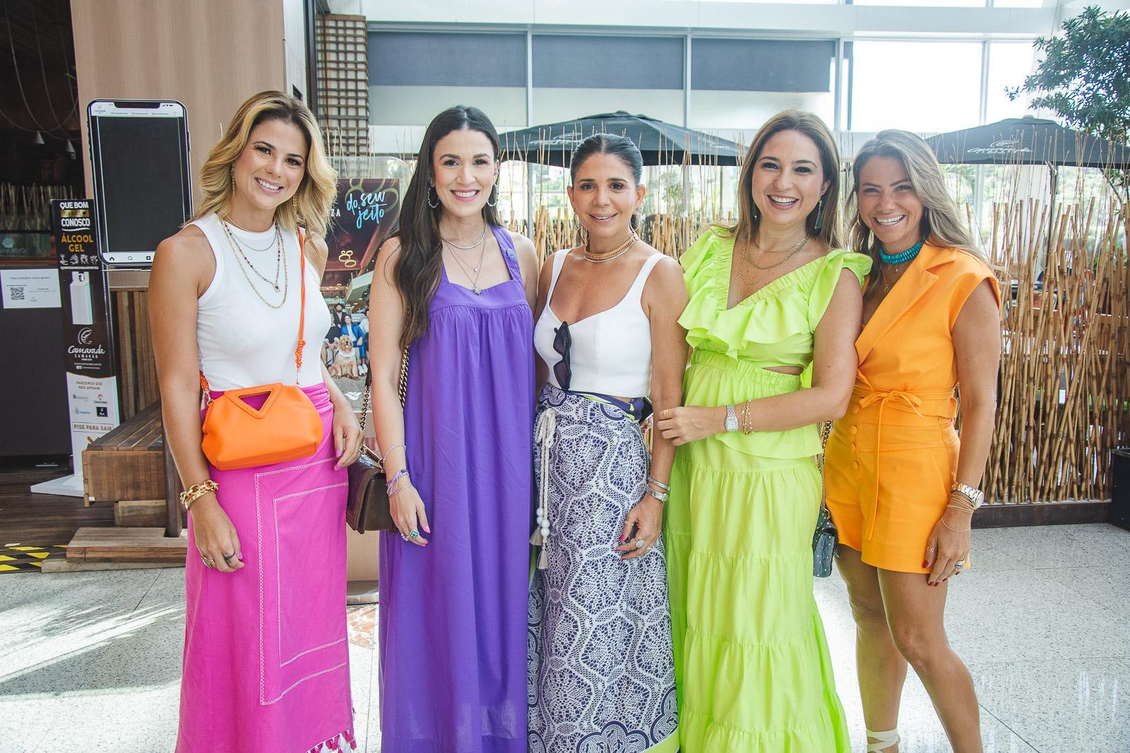 Juliana Roma, Giuliana Botelho, Maria Lucia Negrao, Marcella Feitosa E Vanessa Queiros