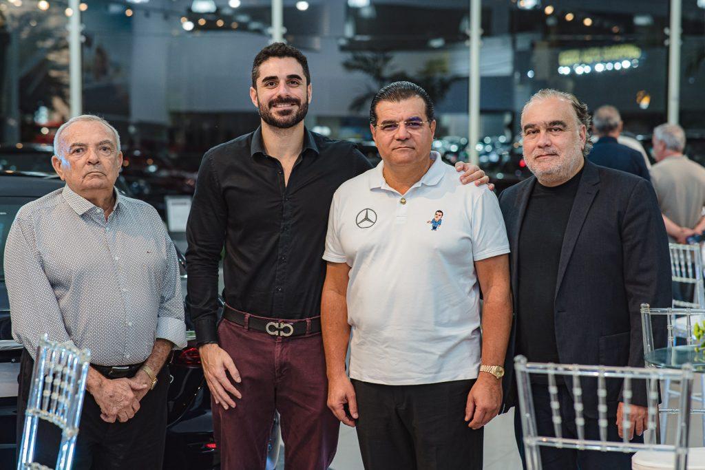 Julio Santiago, Andre Xereis, Odmar Feitosa E Helio Parente