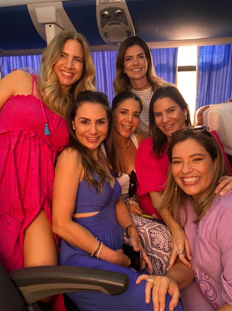 Karmilse Marinho, Adriana Queiroz, Maria Lucia, Inês Benevides