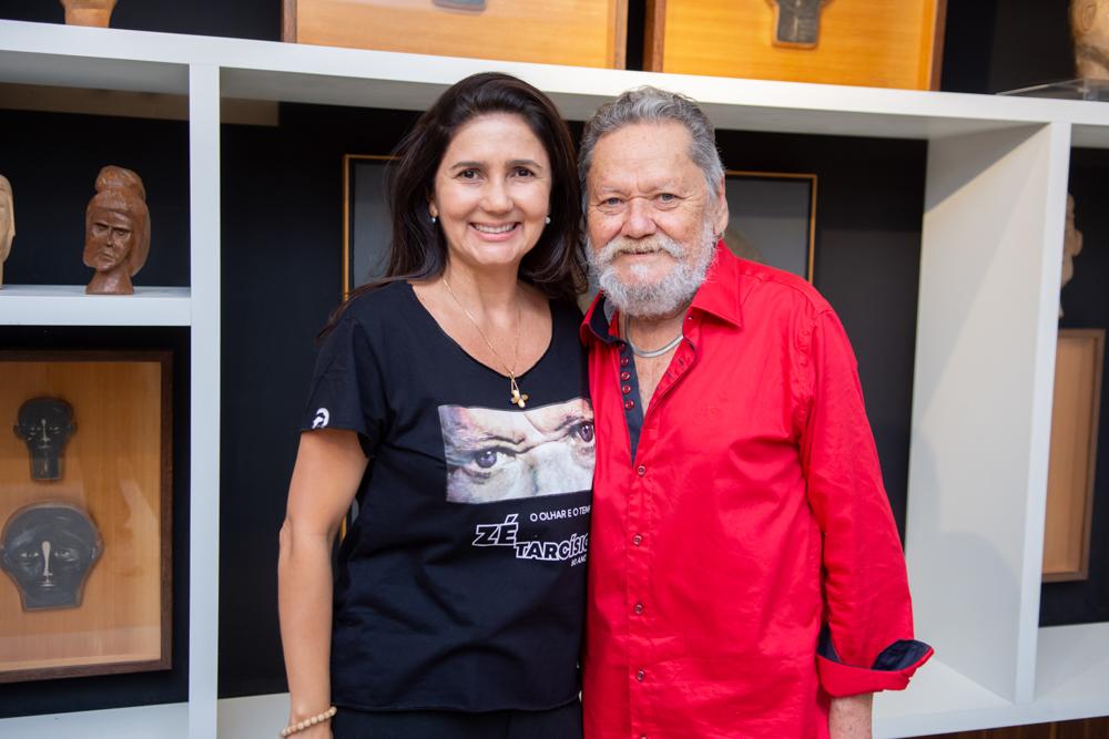 Luciana Cidrão E Zé Tarcísio