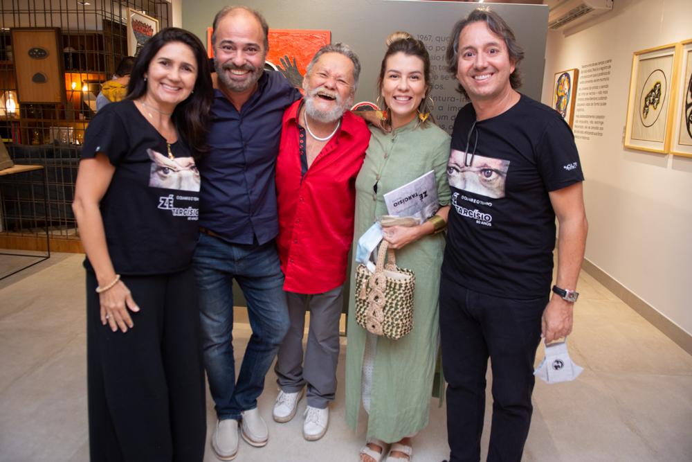 Luciana Cidrão, Marcos Novais, Zé Tarcísio, Rhaina Huland E Rodrigo Parente