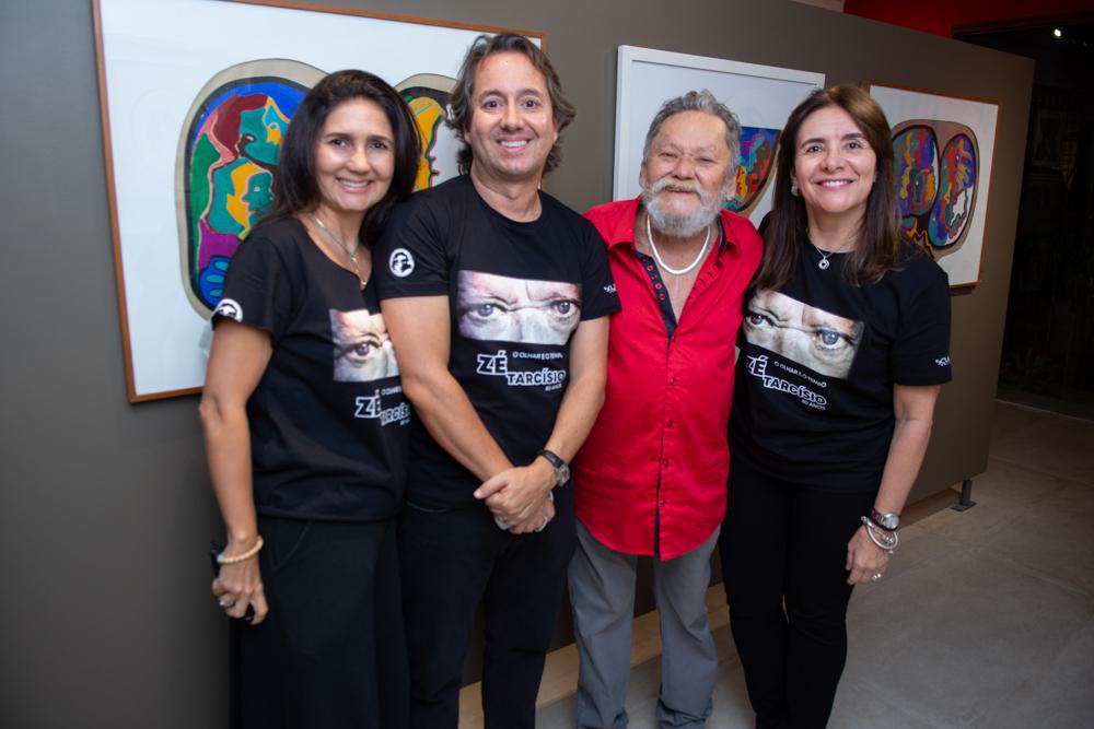 Luciana Cidrão, Rodrigo Parente, Zé Tarcísio E Tania Vasconcelos