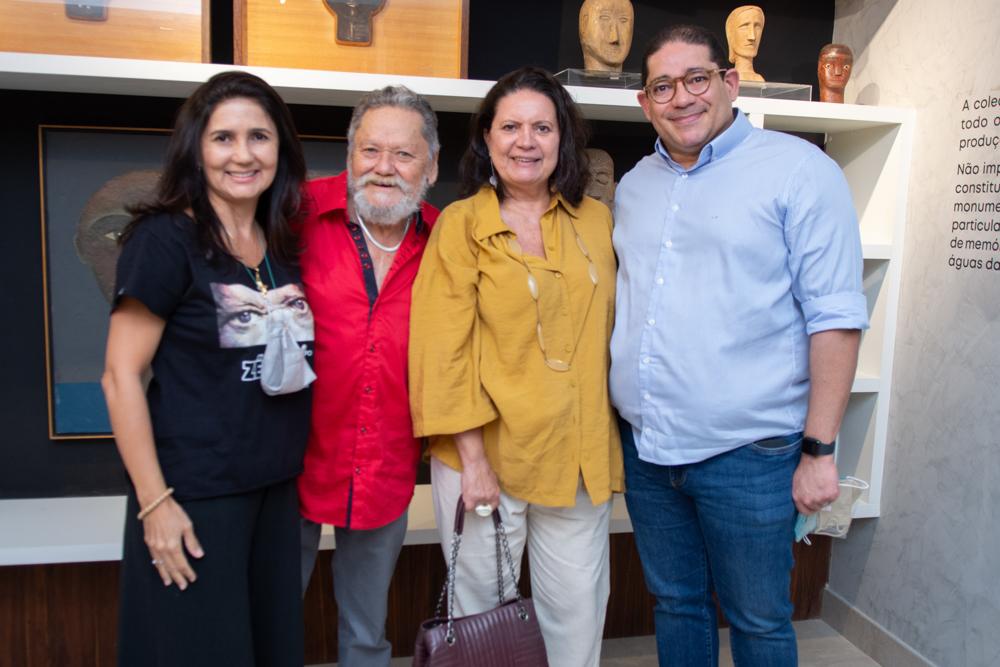 Luciana Cidrão, Zé Tarcísio, Eliana Braga E Alexandre Pita