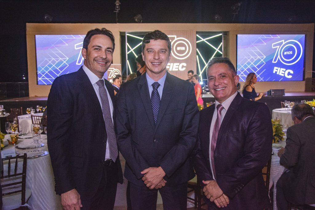 Luis Carlos Queiroz, Andre Siqueira E Benildo Aguiar