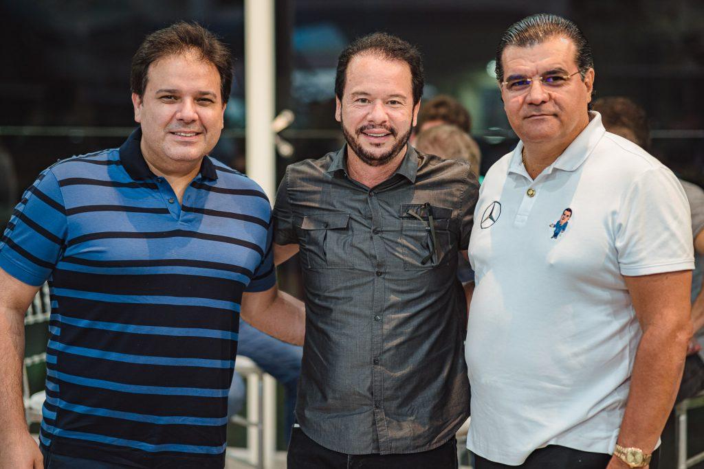 Marcelo Feitosa, Lisandro Fujita E Odmar Feitosa
