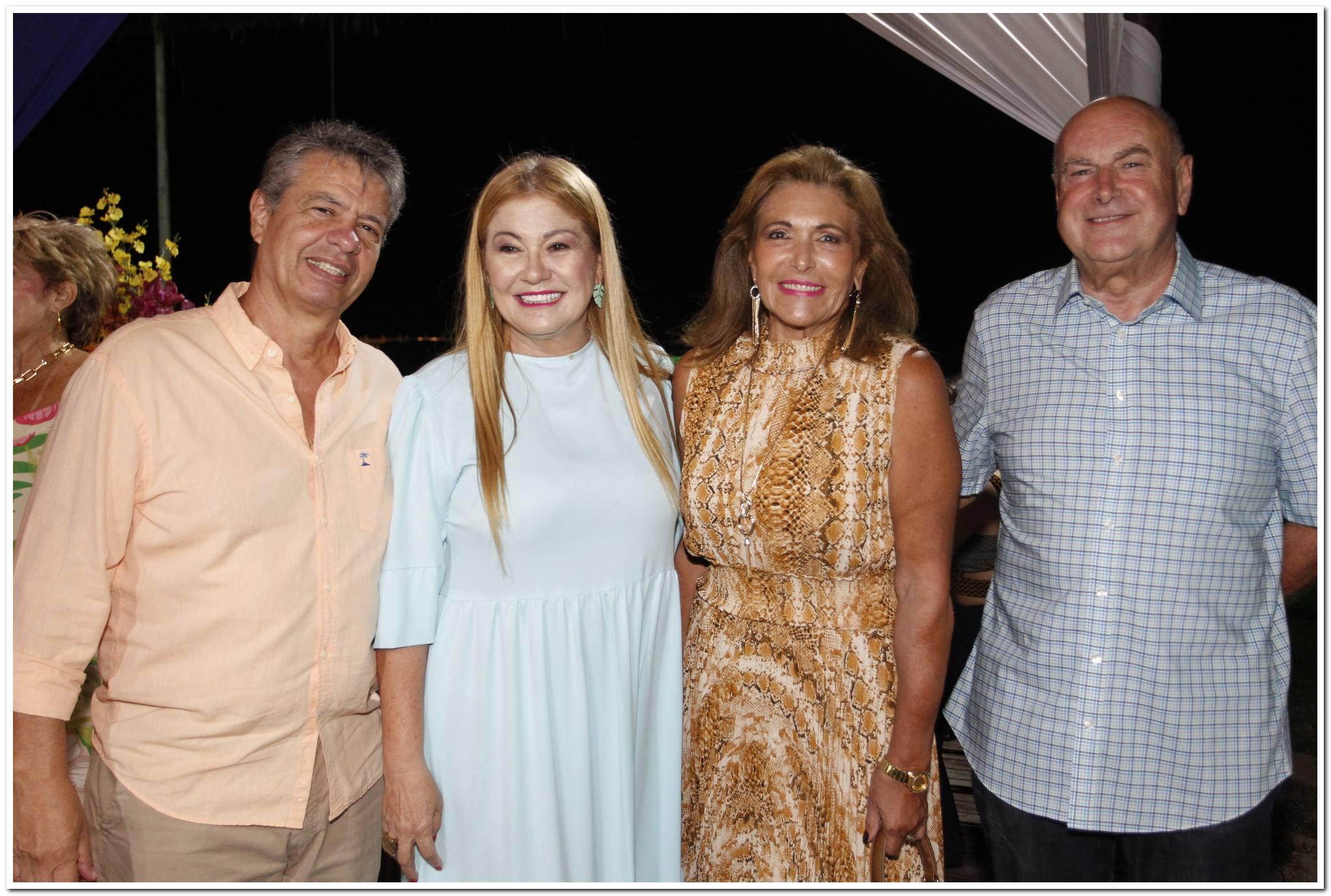 Marcos E Stella Sales, Claudia Meireles E James Pitcher