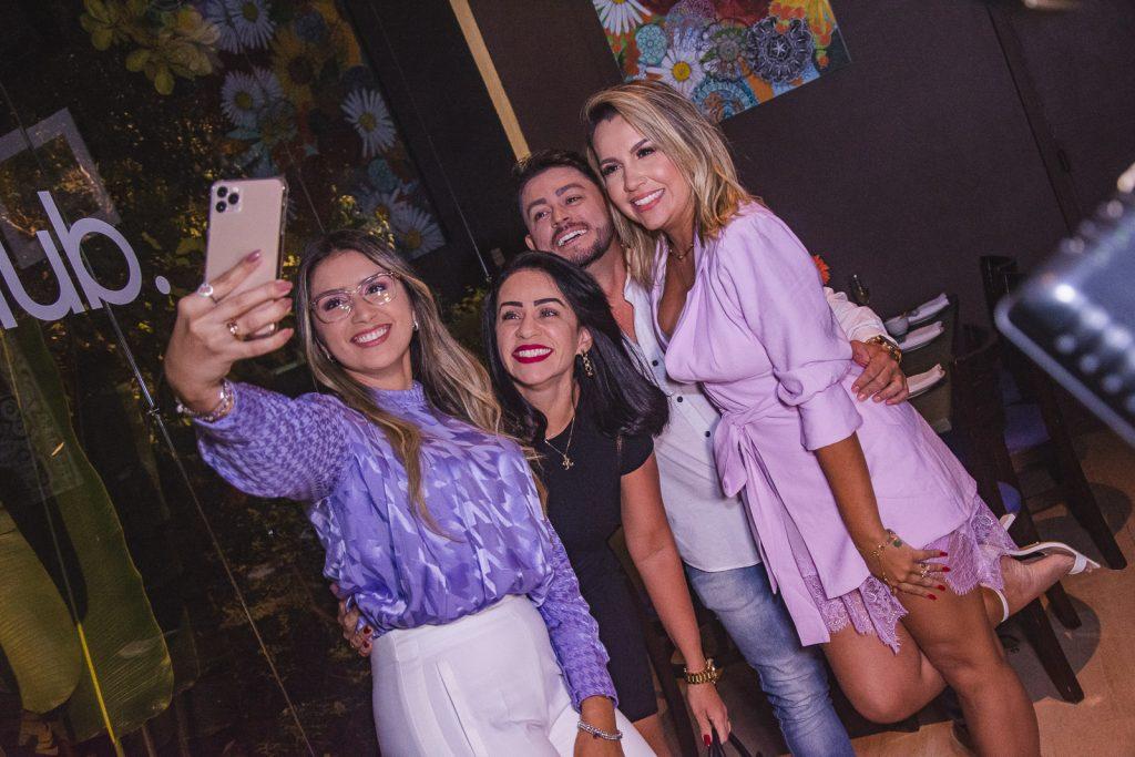 Marilia Mendes, Kelvia Ribeiro, Alessandro Maia E Emanuelle Moreira