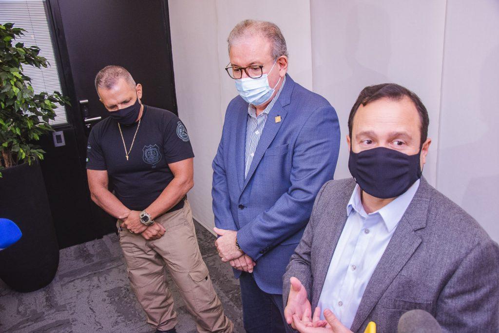 Mauro Albuquerque, Ricardo Cavalcante E Igor Queiroz Barroso (1)