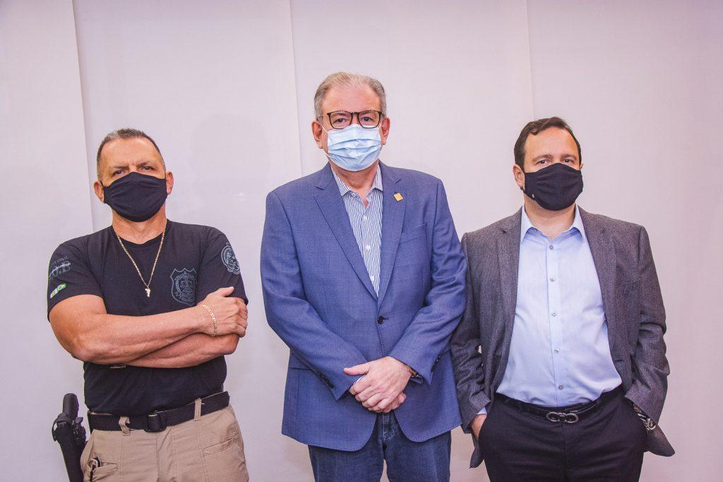 Mauro Albuquerque, Ricardo Cavalcante E Igor Queiroz Barroso