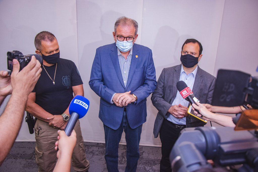 Mauro Albuquerque, Ricardo Cavalcante E Igor Queiroz Barroso (3)