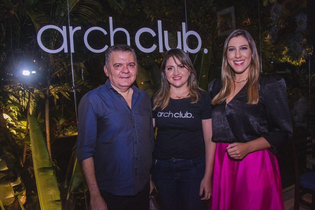 Omar De Albuquerque, Adriele Fidelez E Lorena Lepri