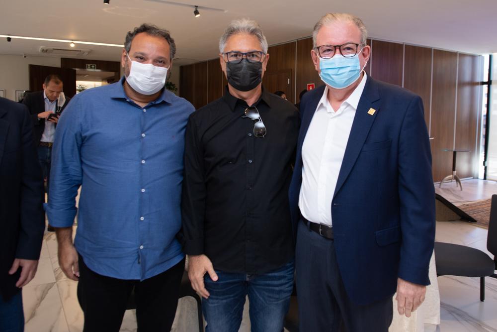 Patriolino Dias, Régis Dias E Ricardo Cavalcante