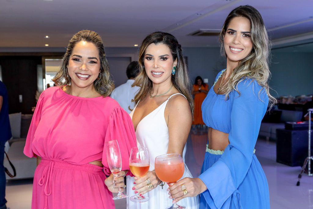 Paula Santa Rosa, Dani Cordeiro E Sandra Bezerra