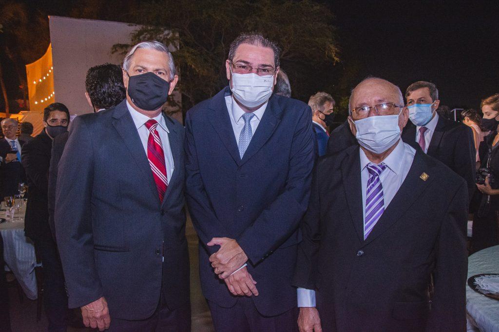 Paulo Gurgel, Roberto Ramos E Aluisio Ramalho