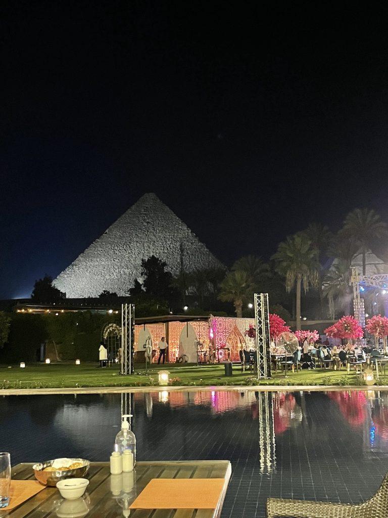 Pirâmides Vista Do Hotel