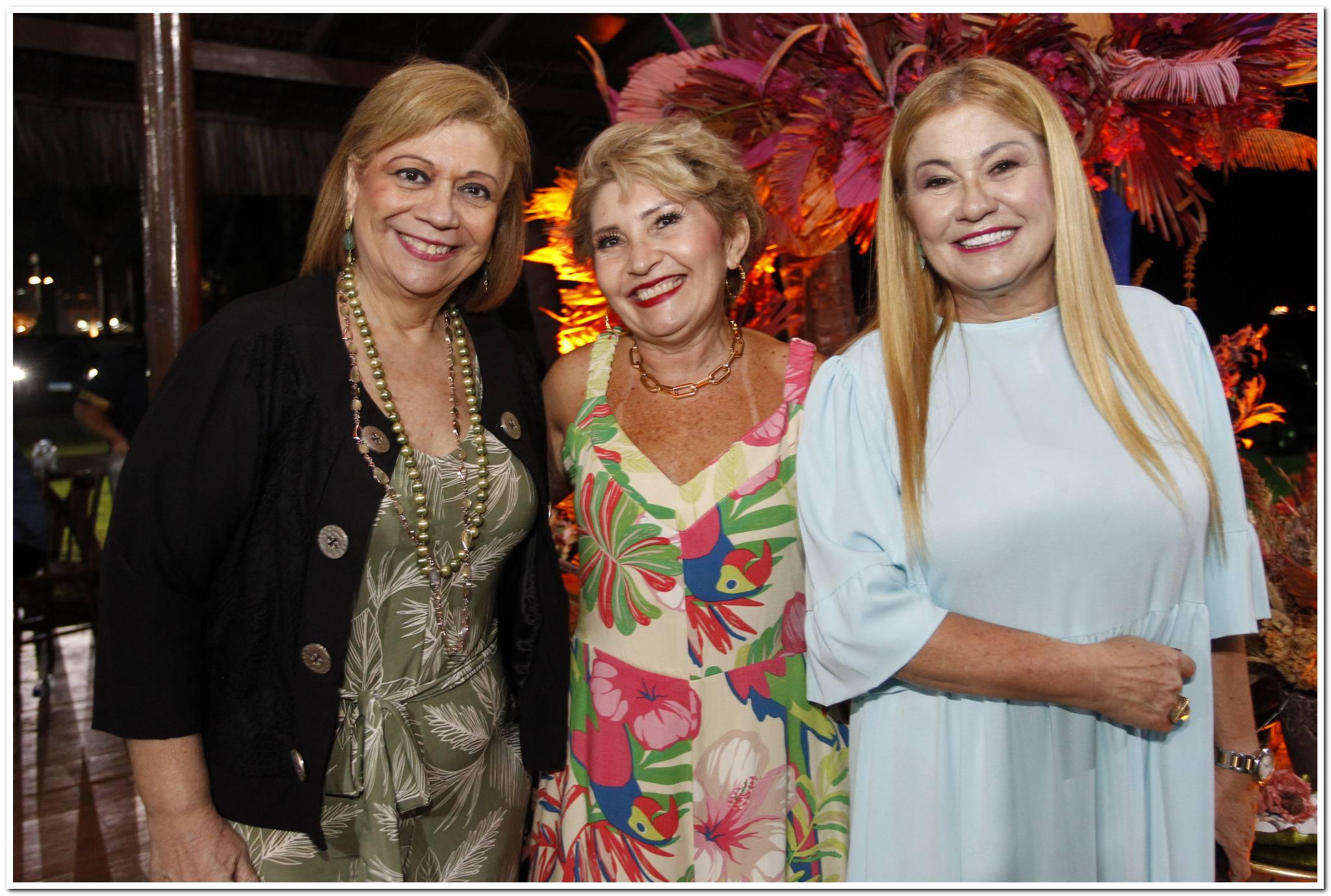 Priscila Cavalcanti, Salete Araujo E Stela Salles