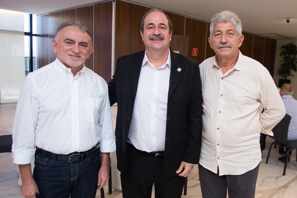 Reginaldo Braga, Paulo André Holanda E Lelio Matias