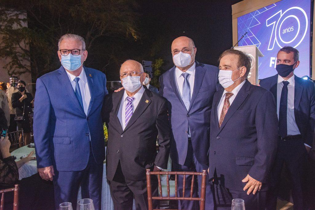 Ricardo Cavalcante, Aluisio Ramalho, Fernando Cirino E Claudio Targino