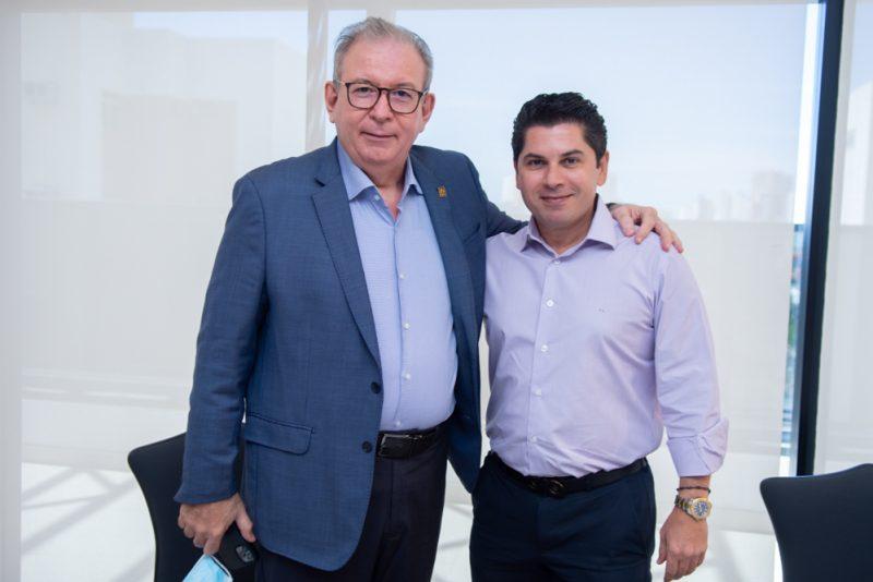 Comexport Trading - Ricardo Cavalcante pilota almoço na Casa da Indústria em torno do diretor da maior trading do País