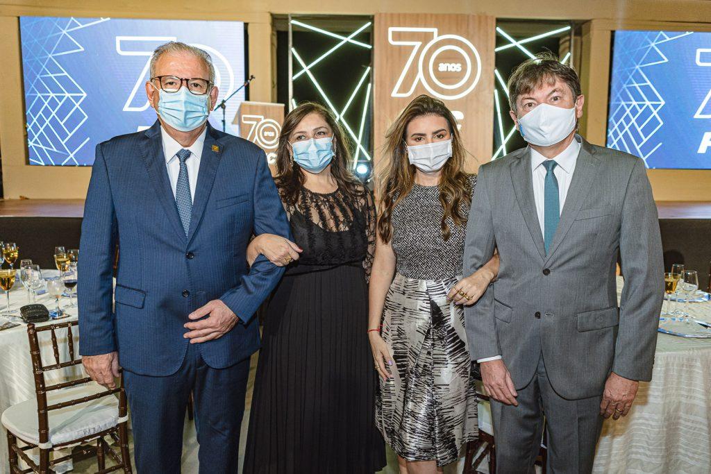 Ricardo Cavalcante, Rosangela Cavalcante, Jack Lima E Edgar Gadelha