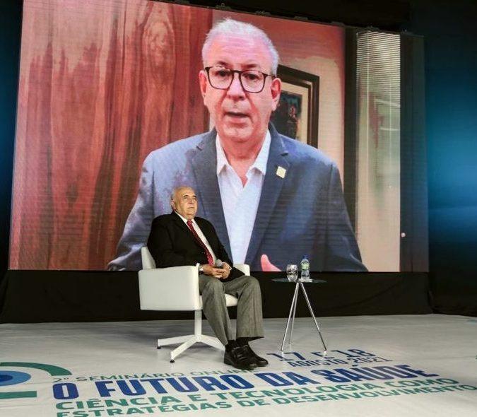 Ricardo Cavalcante destaca o valor da saúde em seminário de desenvolvimento