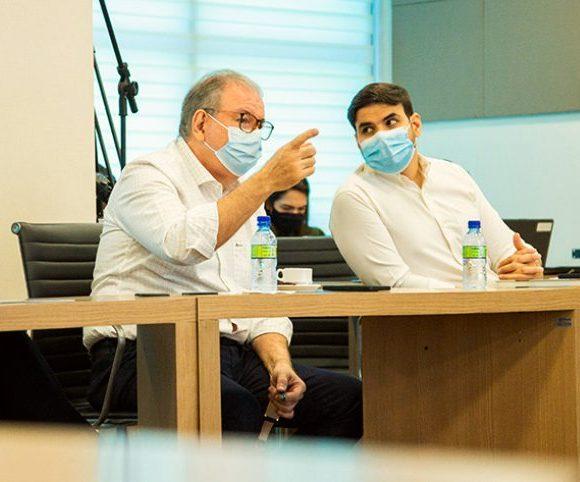 Ricardo Cavalcante discute projetos importantes com o presidente da ABDI