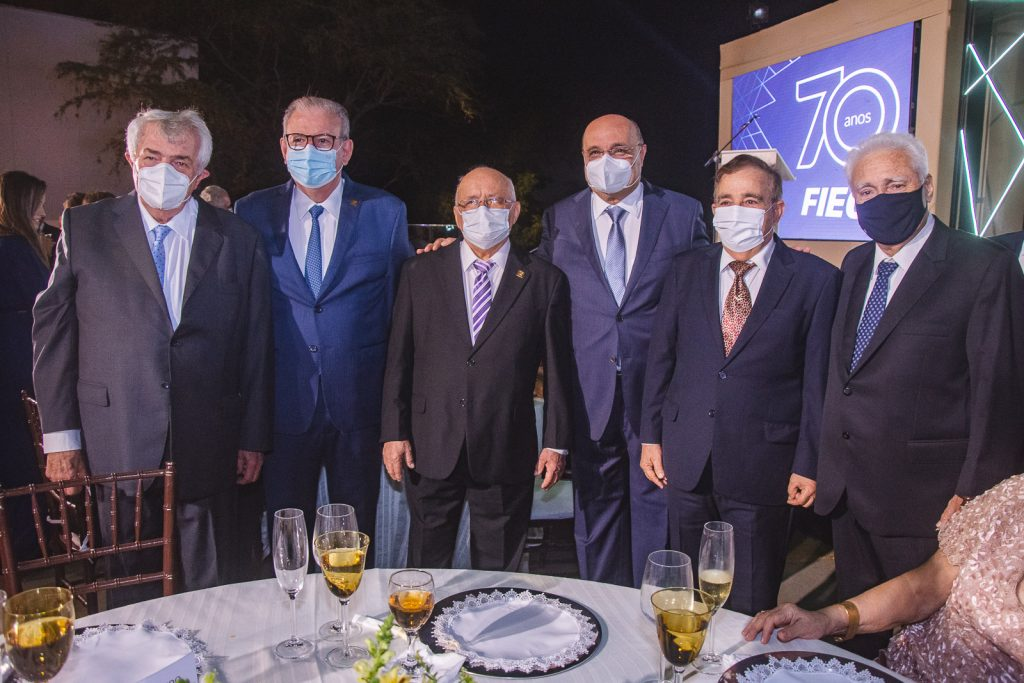 Roberto Macedo, Ricardo Cavalcante, Aluisio Ramalho, Fernando Cirino, Claudio Targino E Waldyr Diogo