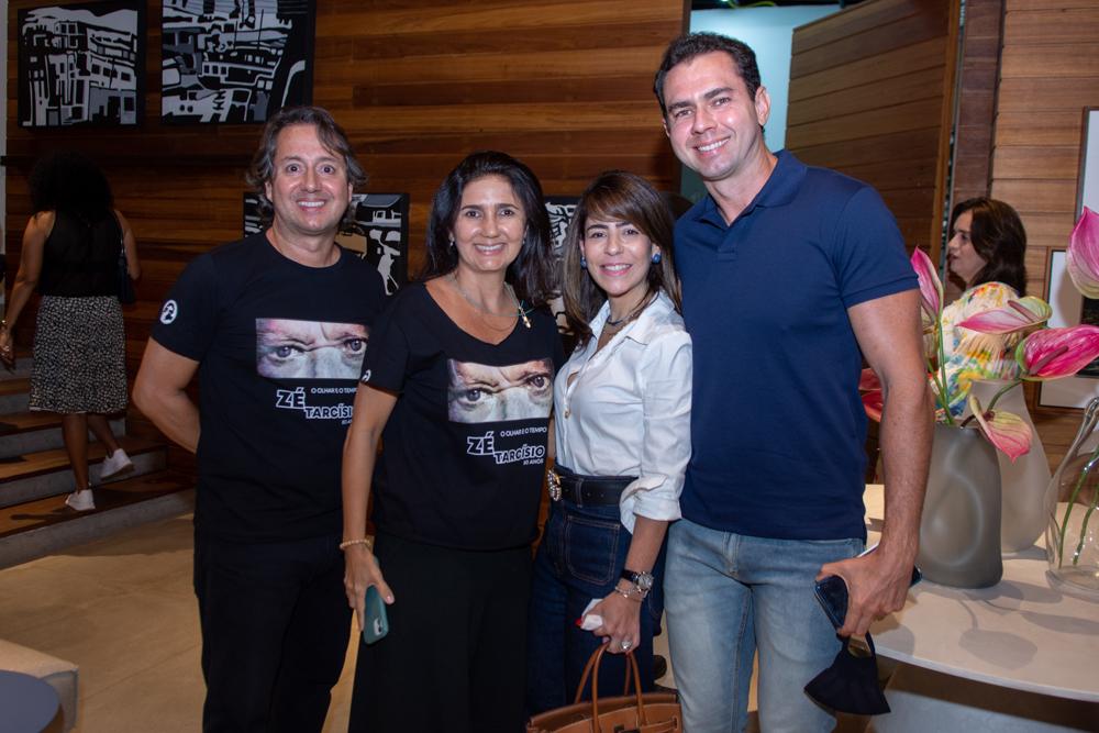 Rodrigo Parente, Luciana Cidrão, Sophia Romcy E Franklin Oliveira